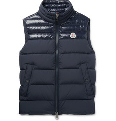 Moncler - Slim-Fit Quilted Shell Down Gilet