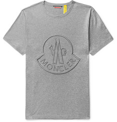 Moncler Genius 2 Moncler 1952 Logo-Embroidered Cotton-Jersey T-Shirt