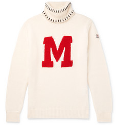 Moncler Genius - 2 Moncler 1952 Intarsia Virgin Wool Rollneck Sweater