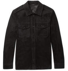 TOM FORD - Suede Shirt Jacket