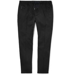 Dolce & Gabbana - Slim-Fit Tapered Stretch-Cotton Drawstring Trousers