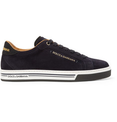 Dolce & Gabbana Roma Suede Sneakers