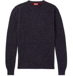 Isaia - Donegal Mélange Cashmere Sweater