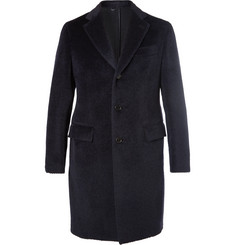 Brioni - Slim-Fit Baby Llama and Virgin Wool-Blend Overcoat