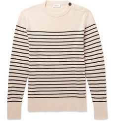 Brioni Striped Cashmere Sweater