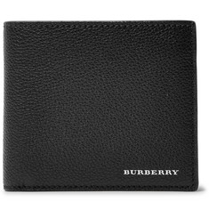 Burberry Full-Grain Leather Billfold Wallet