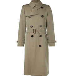 Burberry - Shadwell Cotton-Gabardine Trench Coat