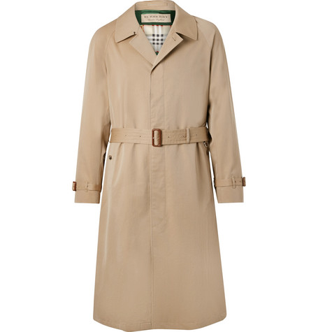 Bournbrook Cotton Gabardine Trench Coat by Burberry