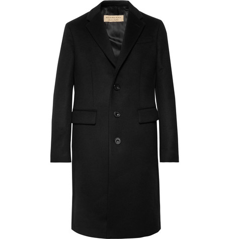 Slim-fit Wool And Cashmere-blend Coat