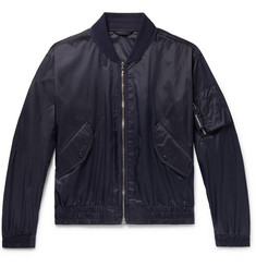 Burberry Nylon Bomber Jacket
