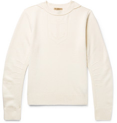 Burberry - Jacquard-Knit Merino Wool and Cashmere-Blend Sweater
