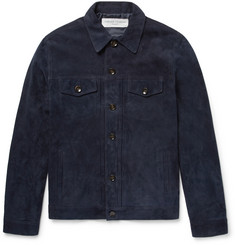 Officine Generale Liam Suede Jacket