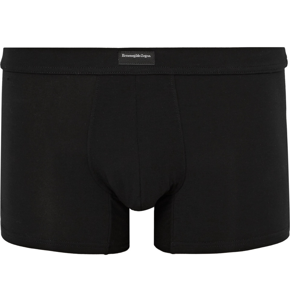 Stretch-modal Boxer Briefs - Black