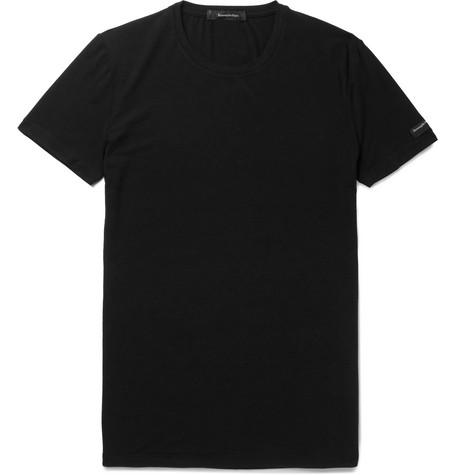Stretch-modal T-shirt Ermenegildo Zegna Best Place Online 2018 Unisex Sale 100% Authentic Recommend Sale Online 100% Original Cheap Online 3AjAw8aJna