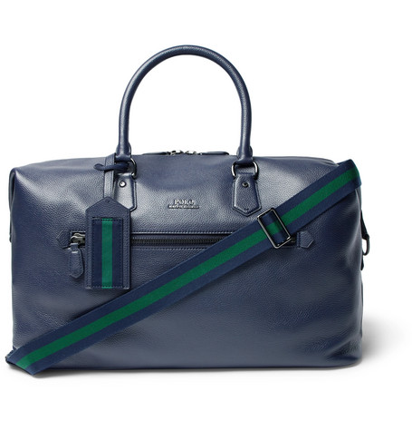 Full Grain Leather Holdall by Polo Ralph Lauren