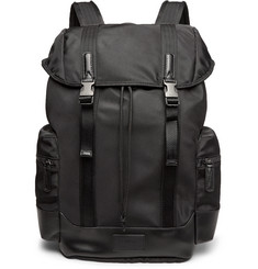 Polo Ralph Lauren Leather-Trimmed Ripstop Backpack
