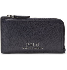 Polo Ralph Lauren Full-Grain Leather Zip-Around Cardholder