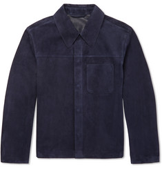 Dunhill Suede Shirt Jacket