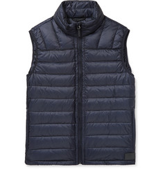 Dunhill - Quilted Shell Down Gilet