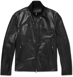 Dunhill Leather Track Jacket