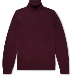 Dunhill - Slim-Fit Wool Rollneck Sweater