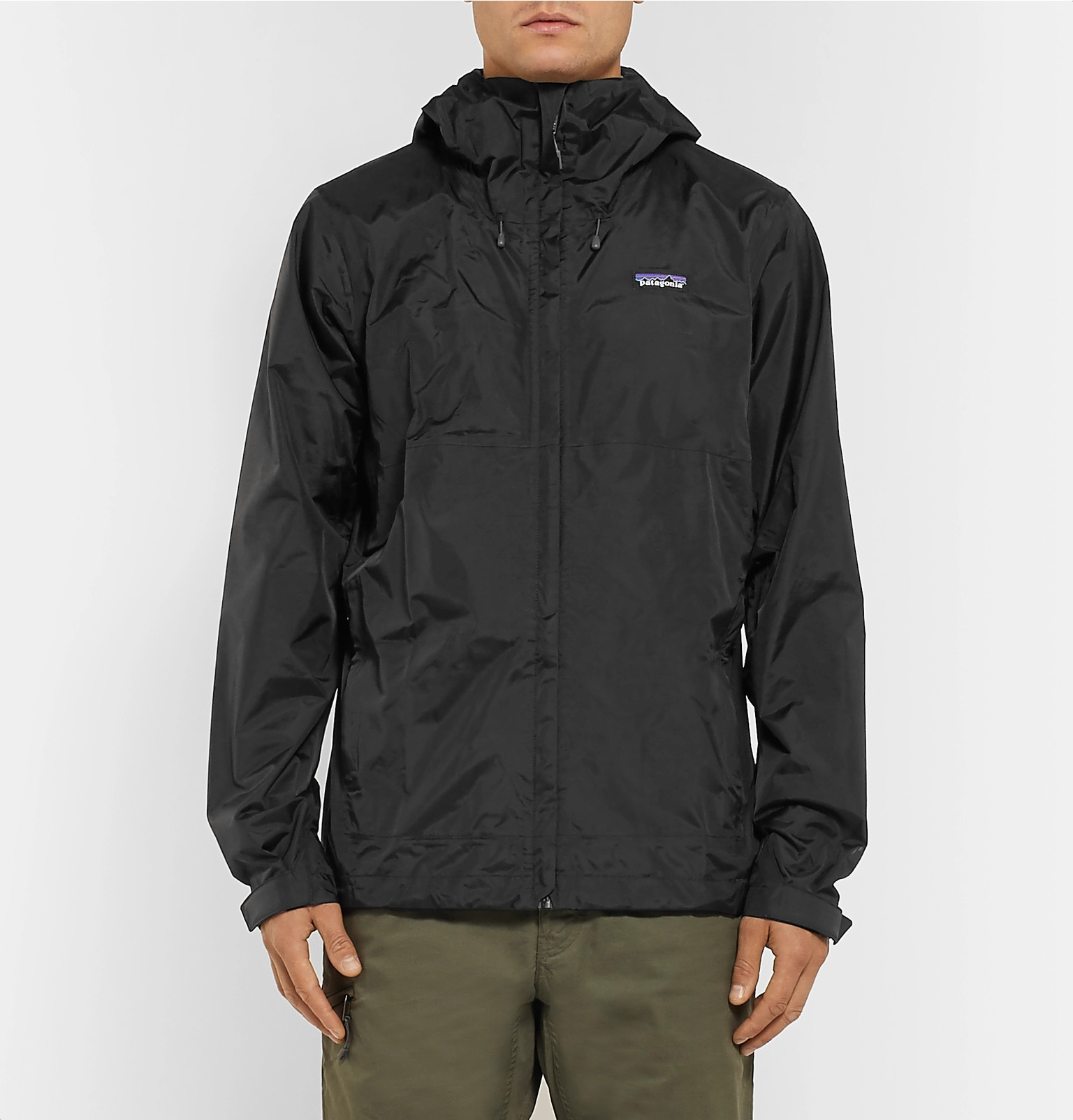 Patagonia Standard Nylon H2no Torrentshell Waterproof Performance BBZU6