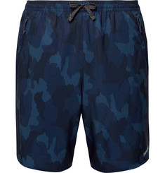 Patagonia Nine Trails Slim-Fit Camouflage-Print Stretch-Shell Shorts
