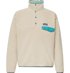 Patagonia - Snap-T Nylon-Trimmed Synchilla Fleece Pullover