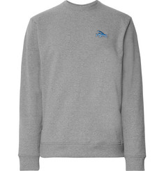 Patagonia Embroidered Mélange Fleece Sweatshirt