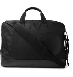 Dunhill - Radial Leather-Trimmed Canvas Holdall