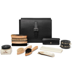 Dunhill - Boston Shoe Care Kit with Leather Case