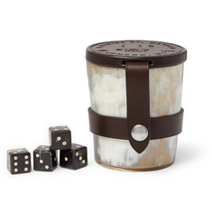 Dunhill - Game Dice and Cup Set