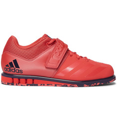 Adidas Sport Powerlift 3.1 Mesh-Trimmed Faux Leather Sneakers