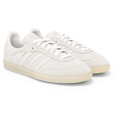adidas Originals - Samba Brushed-Suede Sneakers