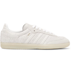 adidas Originals Samba Brushed-Suede Sneakers