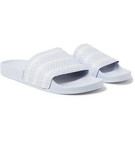 1adedc1f6 Adidas Originals Adilette Sliders In Blue B41546 - Blue