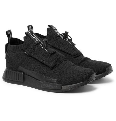 35e876ef16084 Adidas Originals Adidas Nmd Ts1 Gore Tex Triple Sneakers In Black ...