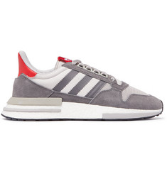 adidas Originals ZX 500 Suede, Mesh and Leather Sneakers