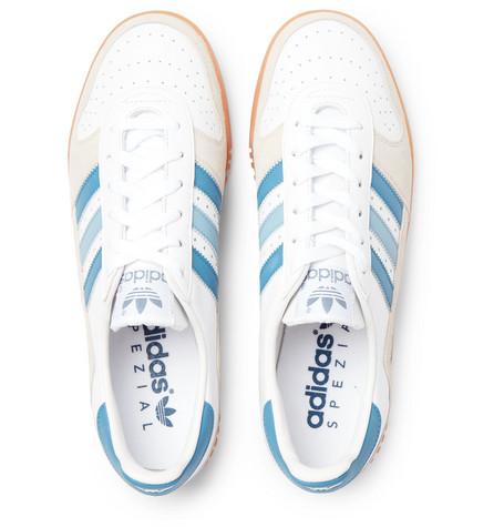 adidas Originals Comp Indoor Comp Originals SPZL Leather and Suede Baskets 5824e1