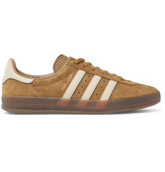 adidas Originals Mallison Spezial Leather-Trimmed Suede Sneakers