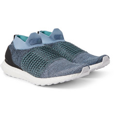 adidas Originals - + Parley UltraBOOST Primeknit Slip-On Sneakers