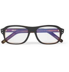 Kingsman-+ Cutler and Gross Eggsy's Square-Frame Acetate Optical Glasses