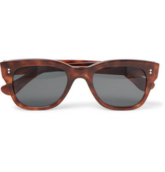 Kingsman + Cutler and Gross D-Frame Tortoiseshell Acetate Sunglasses
