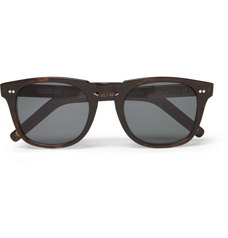 4cabfd9db6 Kingsman Cutler And Gross D-Frame Tortoiseshell Acetate Sunglasses In Brown