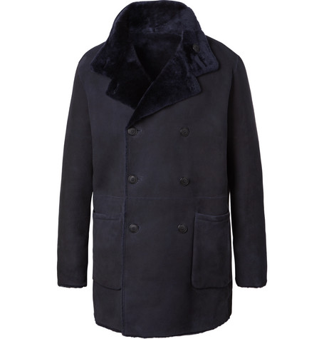 REVERSIBLE SHEARLING COAT from MR PORTER