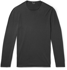 Giorgio Armani Slim-Fit Cashmere-Blend Sweater