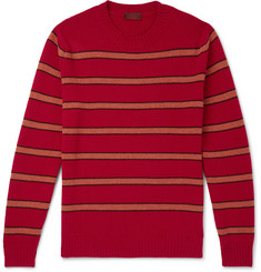 Altea Striped Virgin Wool Sweater