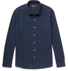 Altea Checked Cotton Shirt