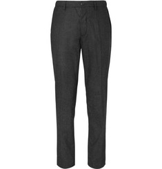 Altea Puppytooth Wool-Blend Drawstring Trousers