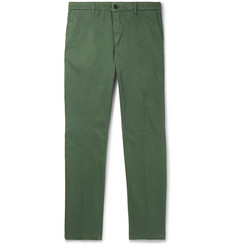 Altea Slim-Fit Tapered Stretch-Cotton Gabardine Chinos